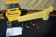 Dynatel 3m Transmitter Locator Modei 2273/2573 With 2 Inductive Clamps 2