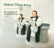 Department 56 Dickensand039 Village Accessory The Baptism Of Charles Dickens Item