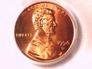 1996 D Lincoln Memorial Cent Penny Pcgs Ms 67 Rd 72916062