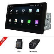 Dvr+obd+iso 2 Din Android 10 8core 10.1 Ips Car Gps Radio Wifi Bluetooth No-dvd