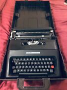 One Of The Best Collectible Typewriters Olivetti Lettera 35 Restored Black