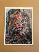 Sold Out- Bordalo Ii Half Lion - Rare H.c. Edition - Hand Embellished And Signed