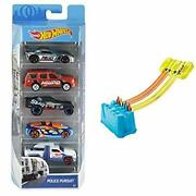 Hot Wheels 01806 Diecast And Mini Toy Cars Assorted Models, Pack Of 5+hot
