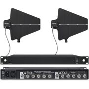 Antenna Distribution System For Uhf Shure Sm58 Wireless Microphone Mic System