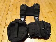 Molle Chest Rig Condor With Fold Out Medic Bag And Pouches Quick Release Black