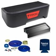 Focal Compatible With 11-18 Ford F-150 Supercrew Single 10 Sub Withwiring Kit