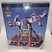 Lemax Carole Towne The Zinger-animated Holiday Village Carnival Retired