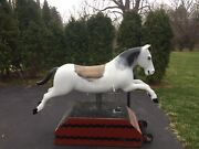 Non Coin Operated Arcade Riding Horse Vintage, Collectible, Fully Functional