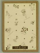 Puzzle Frame Disney Only 108 Pieces For Wood-tone Light Brown 18.2x25.7cm