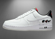 Nike Air Force 1 And03907 Lv8 3 Shoes Peace And Love White Black Dm8148-100 Menand039s New