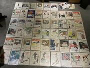 Joblot Of Texaco Posters Avertising Signs Petrol 1939 To 1956