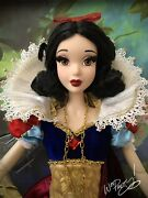 2009 Limited Edition Disney 17 Snow White Le Doll 1630 Of 5000