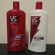 Vidal Sassoon Boost And Lift Shampoo And Conditioner Lot Set Of Two 25.3 Oz New