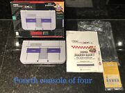 New Nintendo 3ds Xl Snes Edition Cib Collector's Item W/charger And Stylus 4