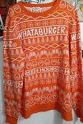 Whataburger Ugly Christmas Sweater Unisexandmdashsold Out Size Xl
