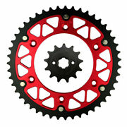 13t-47t Front Rear Sprocket For Honda Crf150f 2003-2012 Crf230f 2004-2012 Crf230