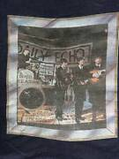 Rare Curio 80's Vintage The Beatles Short Sleeve Old Navy Blue T-shirt American