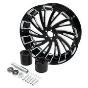 18and039and039 X 5.5and039and039 Rear Wheel Rim W/ Hub Fit For Harley Touring Electra Glide 08-2021
