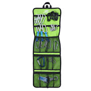 Folding Rock Climbing Caving Quickdraw Sling Carabiner Hook Collection Pack Bag