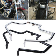 Highway Engine Guard Crash Bar For Harley Heritage Softail Deluxe Fatboy 2000-17