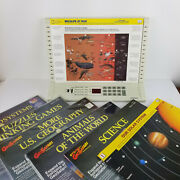 Vintage Geosafari Electronic Learning System With 59 Cards Educational Games