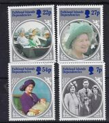 The Life And Times Of The Queen Mother Stamp Set Falkland Dependencies Sg 129-132