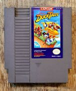 Disneyand039s Ducktales Nintendo Entertainment System 1989 Nes Authentic Tested