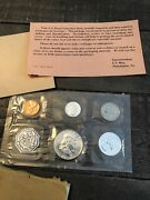 United States Us Mint Silver Proof Coin Set - 1963