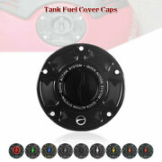 Cnc Fuel Keyless Fuel Tank Gas Cap Cover For Ducati 1199 1299 959 899 Panigale