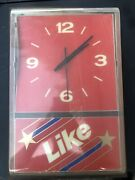 Vintage Like Cola 7up Soda Light Up Electric Wall Clock - Needs Some Reapairs