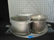 Guardian Service Cookware - Vintage Aluminum - Economy Trio With Serving Tray