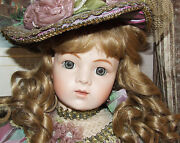 Antique Reproduction Bru Jne 15 French Victorian 30in Patricia Loveless Doll New