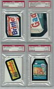 1982 Topps Wacky Packages Lot 27 Different All Psa 10 Gem Mint