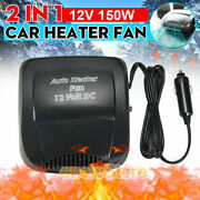 2 In 1 Air Conditioner For Car 12v Dc Plug In Vehicle Heating Cooling Heater Fan