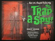 To Trap A Spy 1964 Man From Uncle Original Uk Quad Poster 30 X 40 Inches