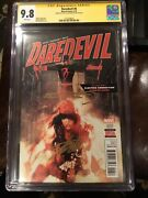 Daredevil 6 W/ Stan Lee And Frank Miller Gold Signatures Cgc 9.8