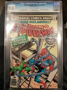 Amazing Spider-man Annual 13 - Marvel 1979 Cgc 9.6 Doctor Octopus Appearance. S