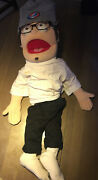 """Super Cute Ventriloquist Doll Puppet Dummy 30"""" Tall See Picts"""