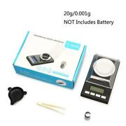 Digital Milligram Scale 20g/ 0.001g Portable Jewelry Scale Lcd Backlit Tare