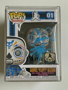 Funko Pop Gabriel Fluffy Iglesias Autographed Day Of The Dead Le4000