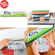 Heavy-duty Aluminum Foil Roll Liner 18 X 500and039 Food Service Commercial Kitchen