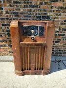 1941 Zenith Console Tube Radio Wave Magnet Am Shortwave Police Bands Parts Only