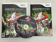 Ghostbusters The Video Game Nintendo Wii, 2009 W/ Case + Manual -complete Cib