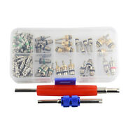 102 Parts For Car R12 And R134 Schrader Air Conditioning System Tool Kit With