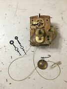 Antique Weight Driven Regulator Or Banjo Clock Style Movement