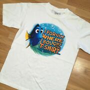 Vintage Disney Finding Nemo Dory I Forgot Where I Bought This T Shirt Y2k Tee S