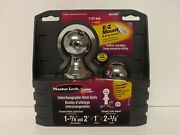 Master Lock Interchangeable Hitch Ball 1 7/8 2and039 1 Shank 2807dat Boat Trailer