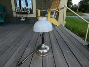 1919 Coleman Lamp Company Quik-lite Gas Table Or Hanging Lamp Lantern W/shade