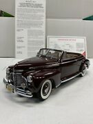 The Danbury Mint 1941 Chevrolet Special Deluxe Convertible Limited Edition 124