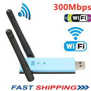 300mbps Dual Band 2.4ghz Wireless Internet Usb Wifi Network Antenna Adapter E2i6